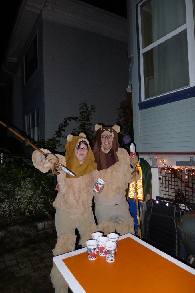 Cuddly Ewoks Felicia and Genaro