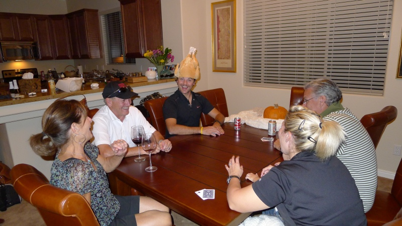 Getting our euchre fix with the Krass family