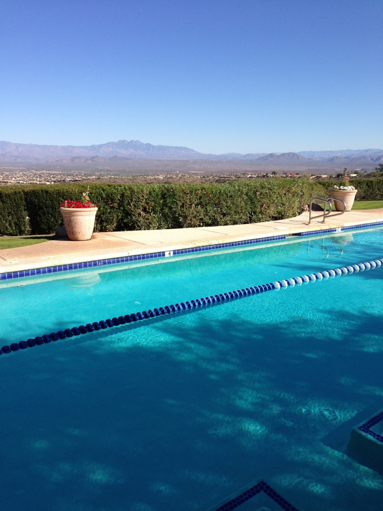 Serenity at the CopperWynd Resort lap pool