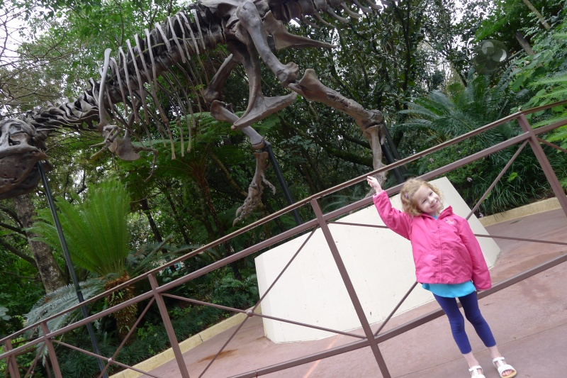 First stop at Disney: DinoLand USA for my dino-crazy niece