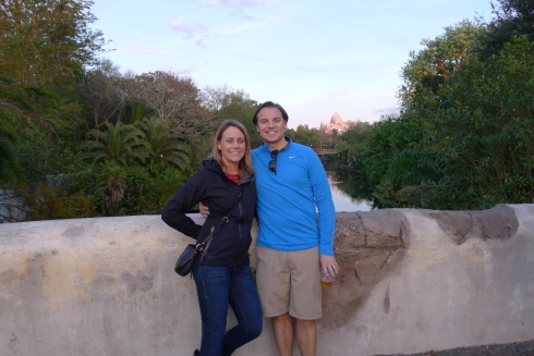 Lovely evening at Animal Kingdom