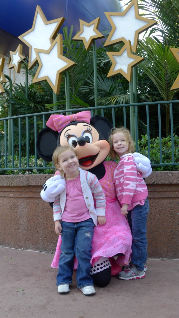 Minnie! First character encounter at Hollywood Studios