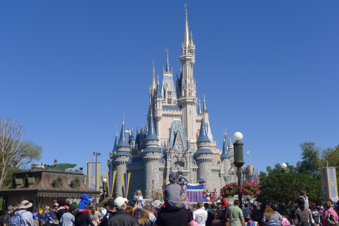 So majestic. Cinderella's castle at Magic Kingdom never gets old.