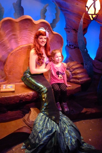 Meeting Little Mermaid