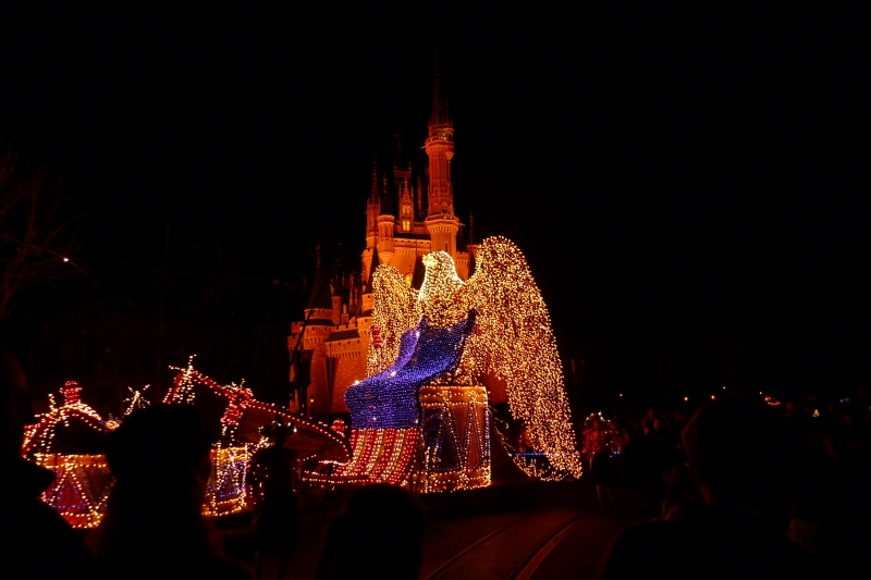 Staying up for the Main Street Electrical Parade