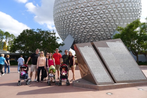 The fam after our third visit to Epcot