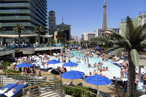 Pure heaven. The Boulevard Pool at The Cosmopolitan