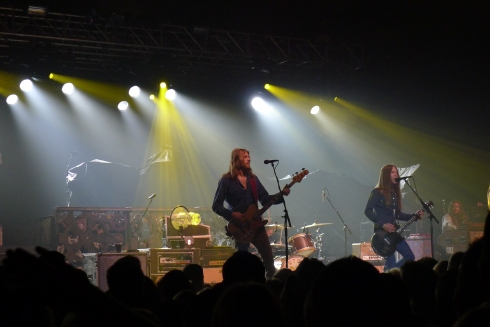 Awesomely gritty opening band: Blackberry Smoke