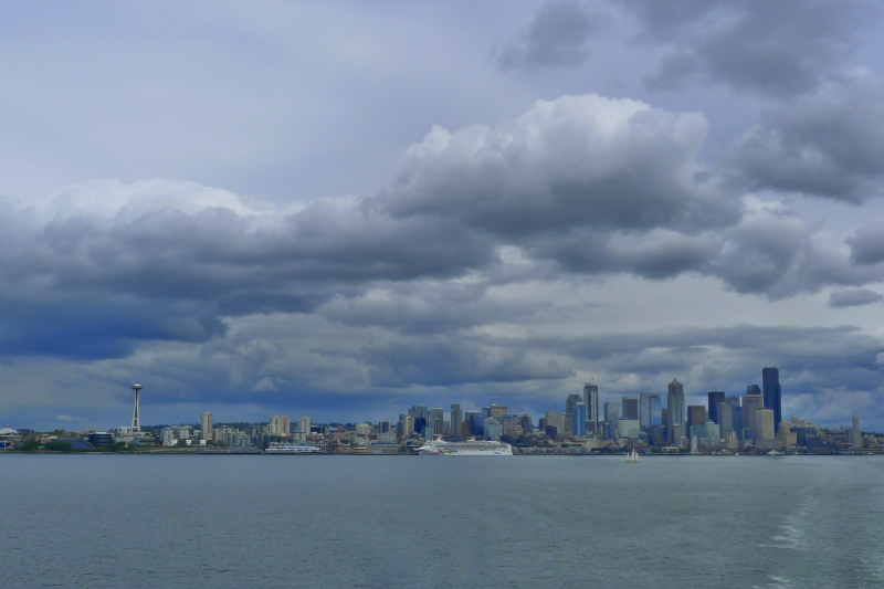 The Emerald City from Elliott Bay
