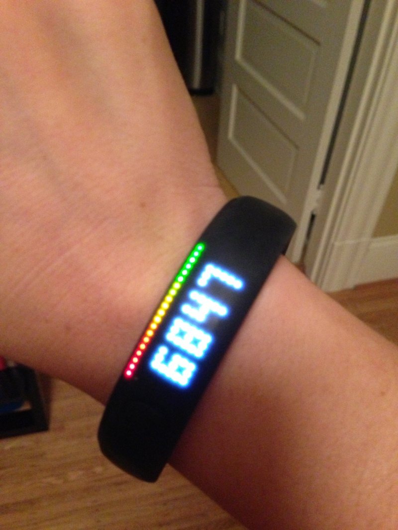 Beat my daily NikeFuel goal of 4,000 by a mile