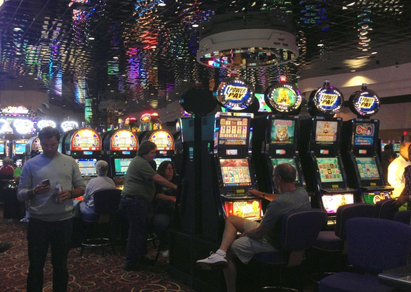 Losing money at Chinook Winds Casino in Lincoln City