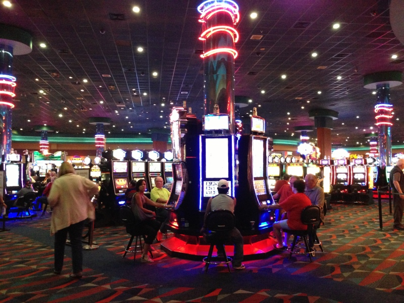 Losing more money at Spirit Mountain Casino