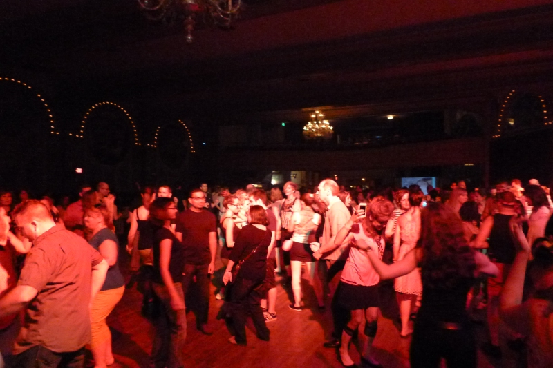 Crystal Ballroom '80s Video Dance Attack in full force