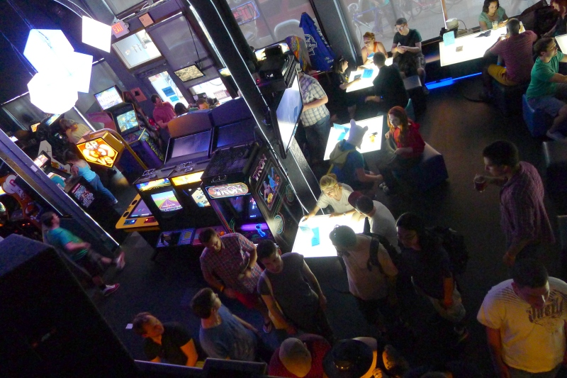 Gamers' paradise at Ground Kontrol
