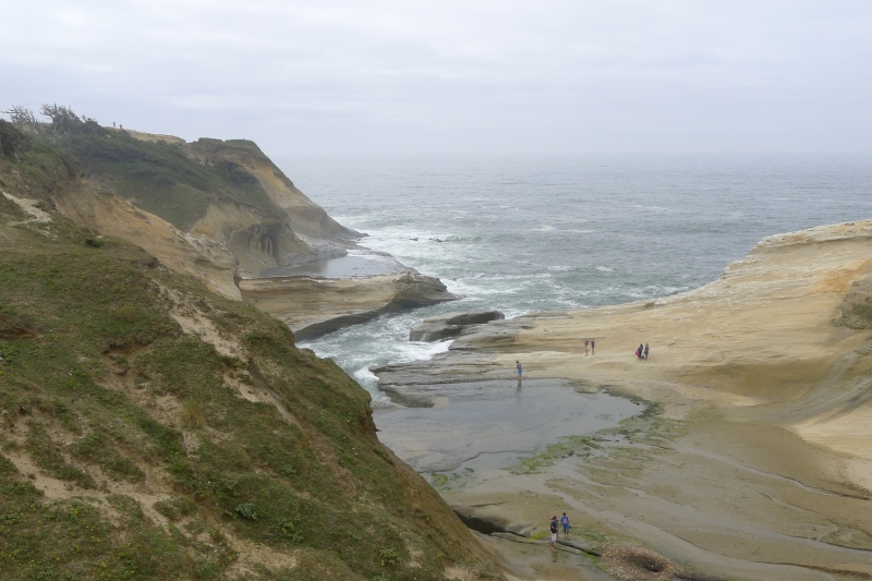 The other side of Cape Kiwanda