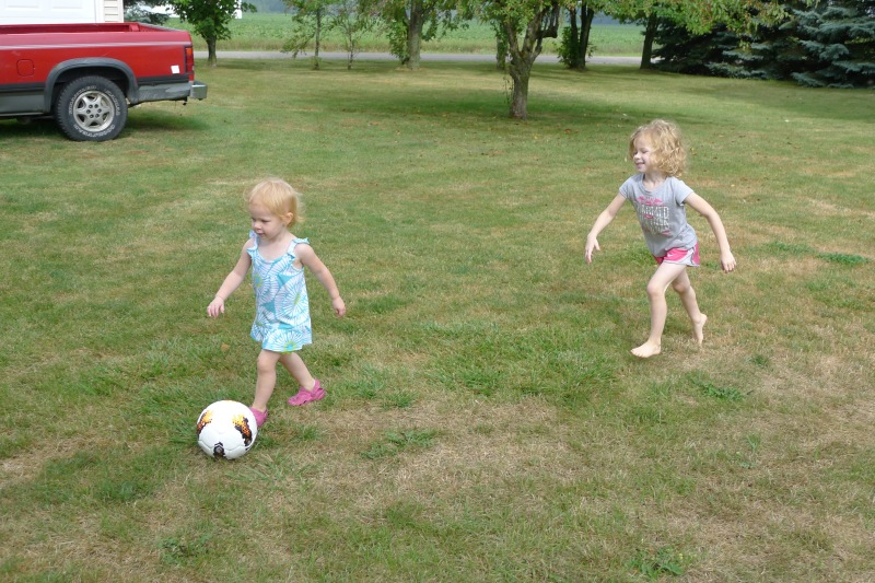 Soccer with Uncle Jeff