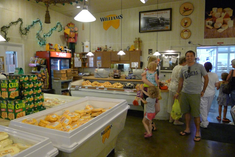 Cheese taste-testing heaven at Williams in Linwood