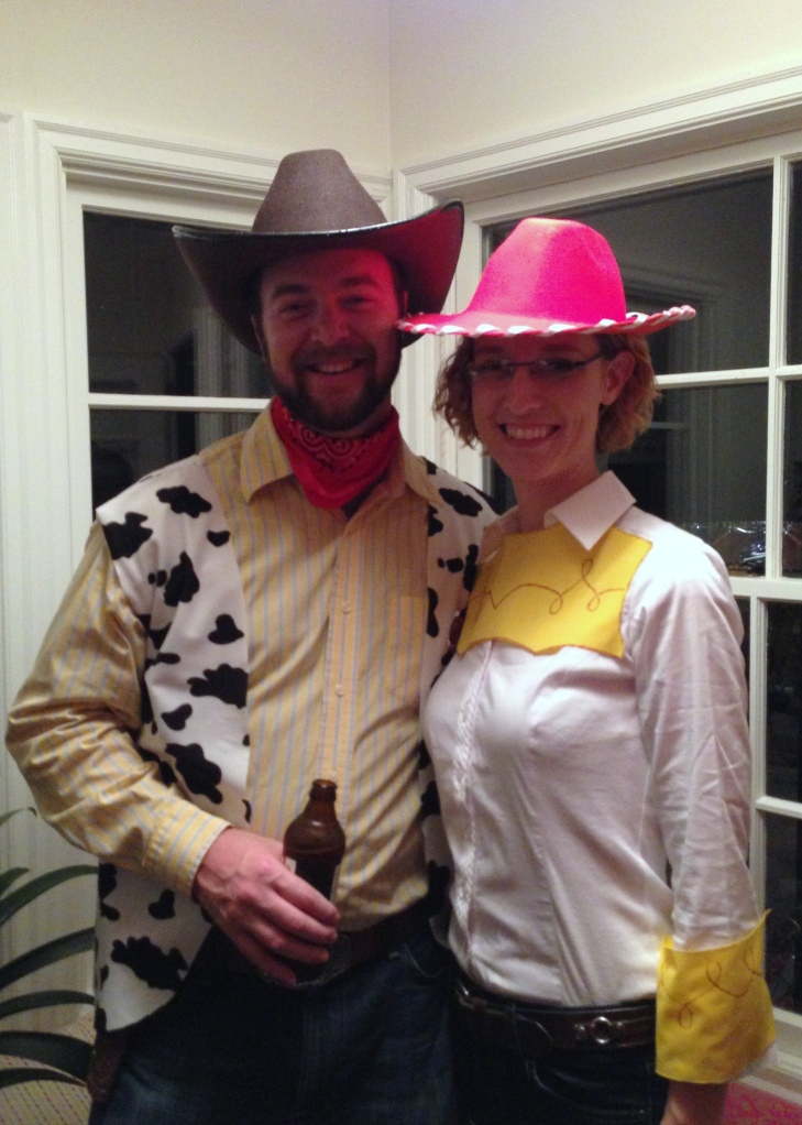 Woody and Jessie (Stephen and Jen)