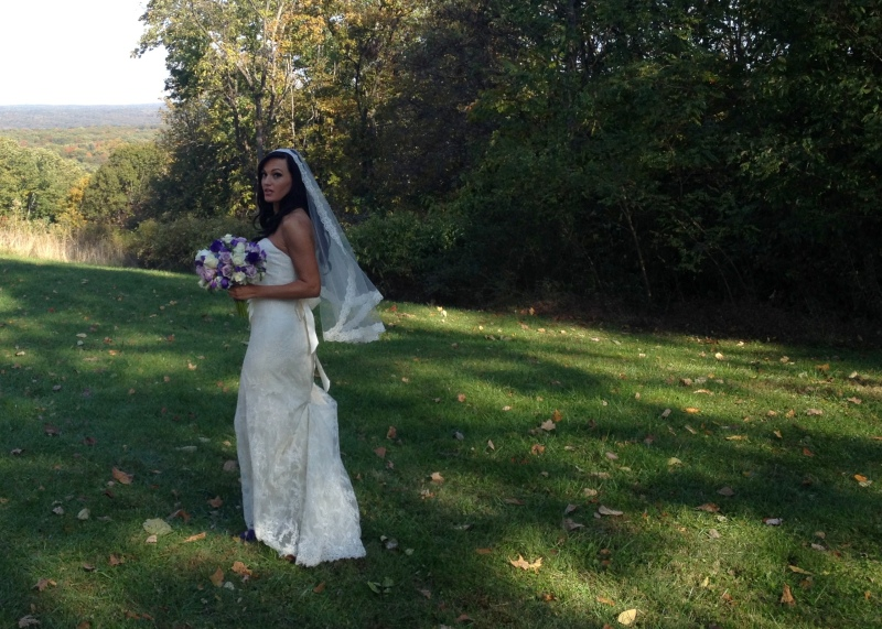 The beautiful bride, Chrissie