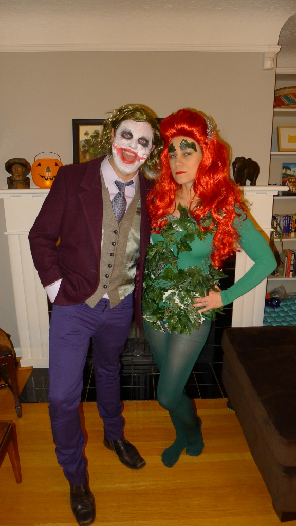 The Joker and Poison Ivy (Jeff and me!)