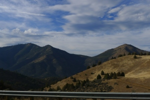 Just one piece of the scenery whizzing by