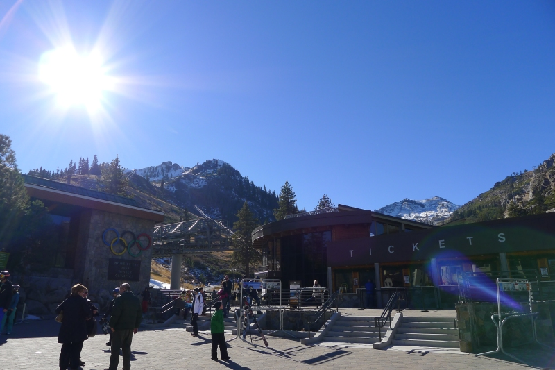 An amazing day at Squaw Valley