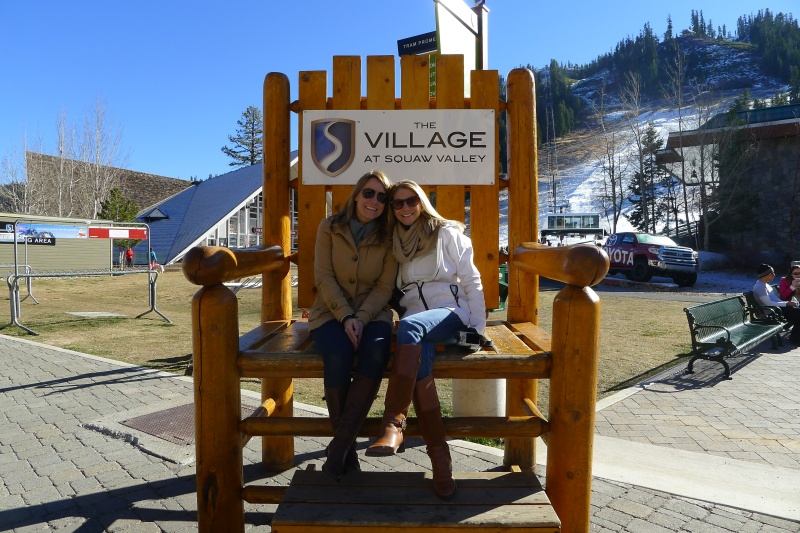 Lizzy and me in the big ol' chair