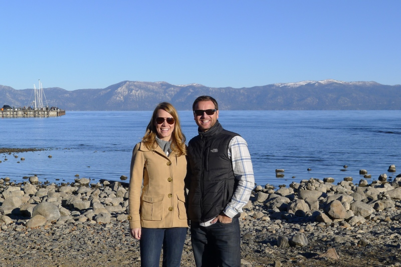 Our first (quick) trip to Lake Tahoe