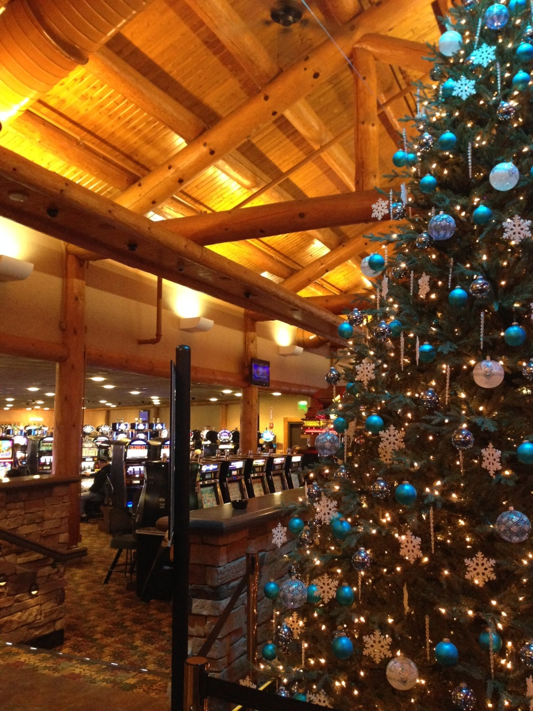Merry Christmas from Saganing Eagles Landing Casino!