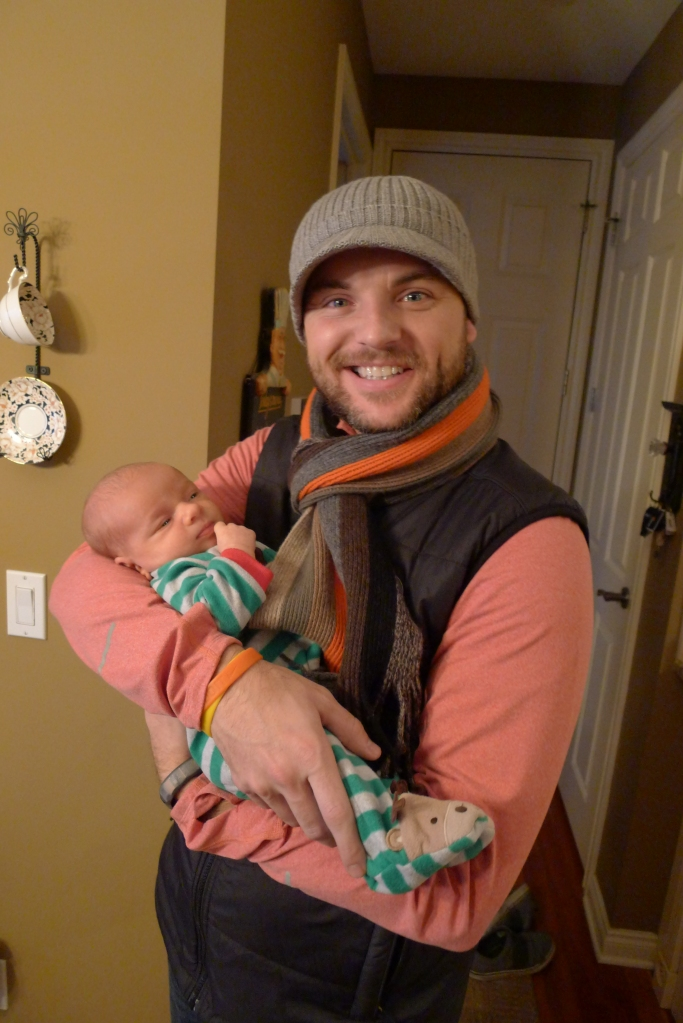 Jeff and our first little nephew, Ben