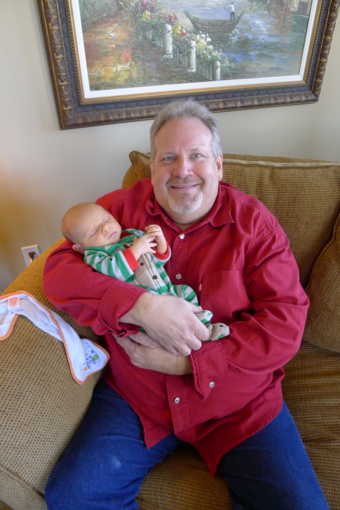 Uncle Roger and his new little buddy, Ben