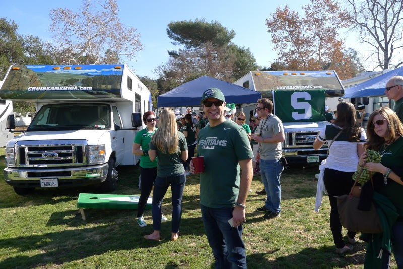 Time for tailgating!