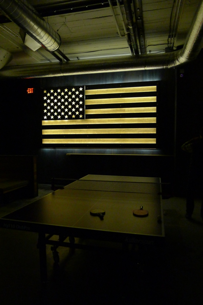 Patriotic ping-pong at Tilt