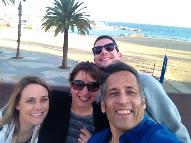 Barcelona selfie!