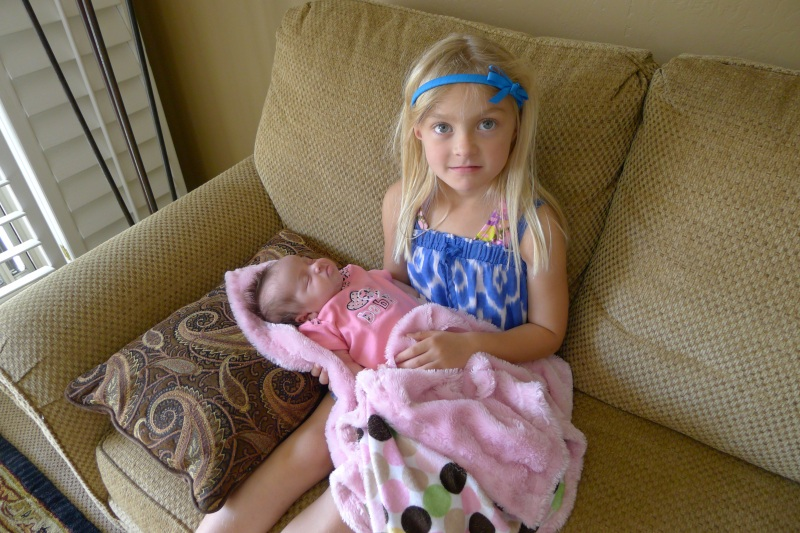 Lexi and Maggie, our cutie-pie kids of cousins