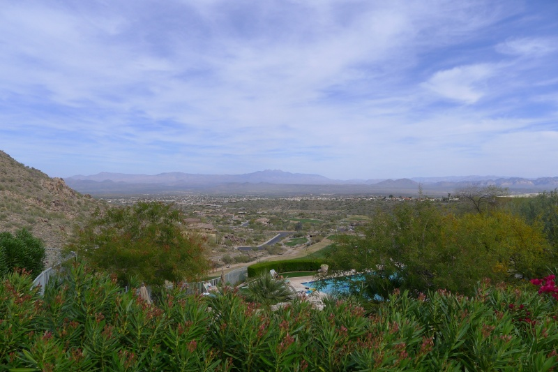 The Arizona landscape as seen from CopperWynd Resort