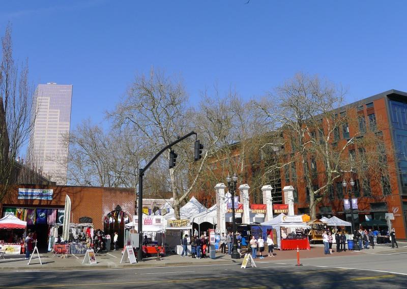 The zany Portland Saturday Market