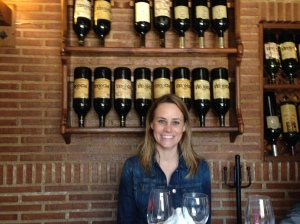 Lunching in a sea of Spanish wine