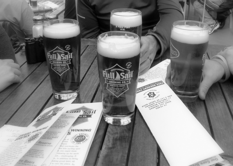 ...and our pints to close our adventure.