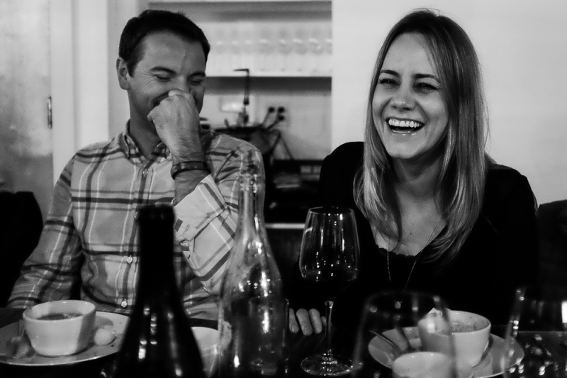 Supper club laughs