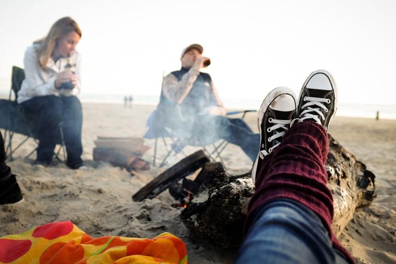 Cozy in Converse *
