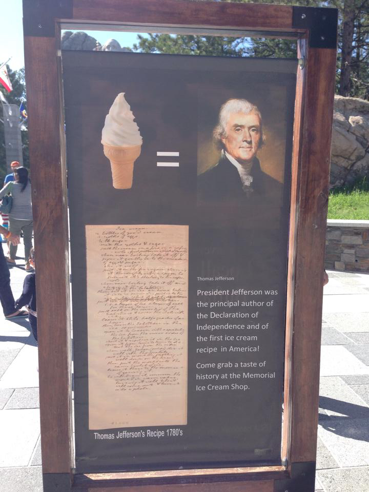 Apparently Thomas Jefferson invented vanilla ice cream — who knew?