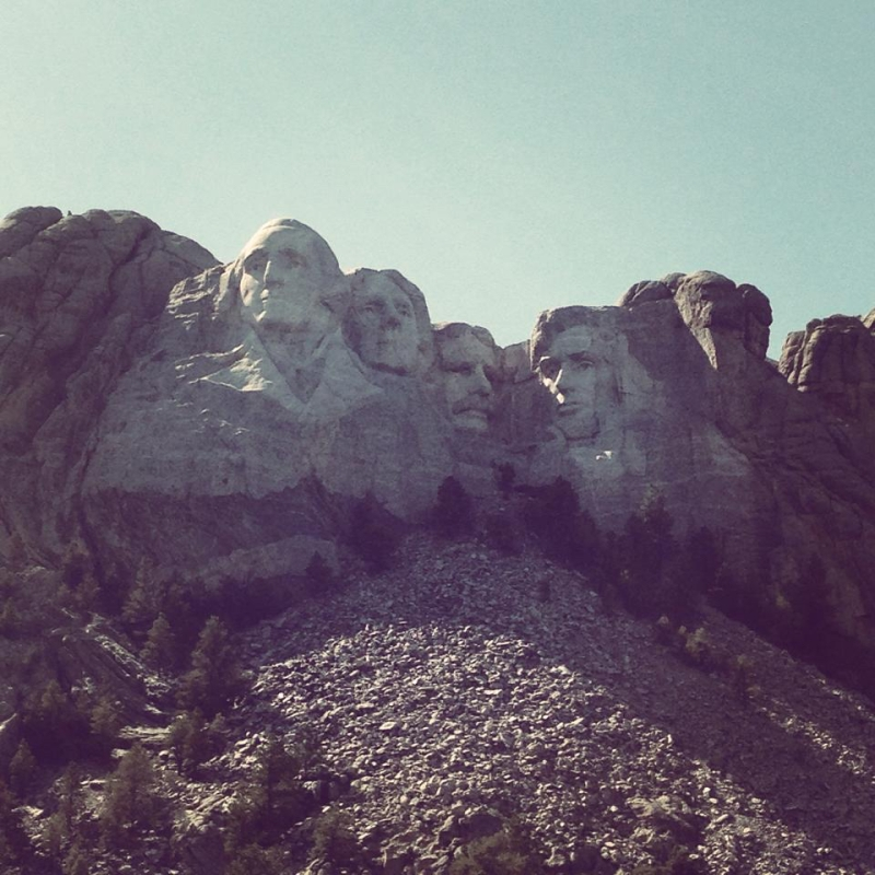 Mount Rushmore!